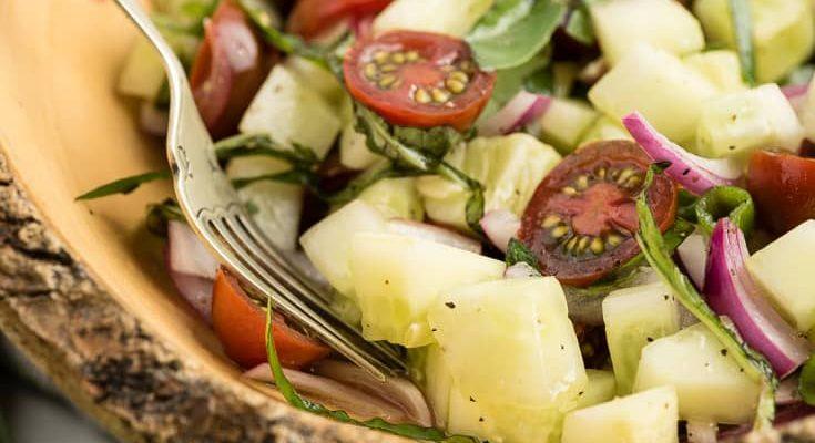 Sallata më e Thjeshtë dhe më e Shëndetshme